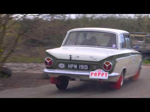 4th Poppy Regularity Rally 2015 -  Historic Rally Action In Belgium