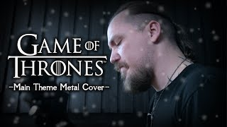 Game of Thrones - Main Theme (Epic Metal Cover by Skar Productions)