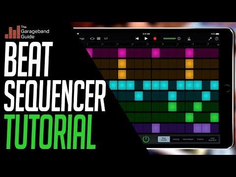 Beat Sequencer Tutorial - thegaragebandguide com