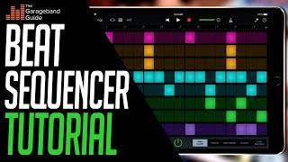 GarageBand Beat Sequencer Tutorial