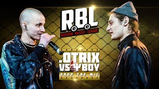 RBL: .OTRIX VS ΨBOY (DROP THE MIC, RUSSIAN BATTLE LEAGUE)