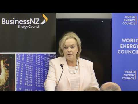 BusinessNZ Energy Council (BEC) Breakfast with New Zealand's Minister Hon. Judith Collins