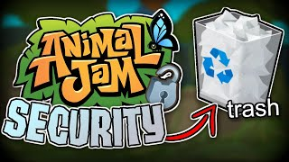 Animal Jam's Security Needs to Change (this is bad..)