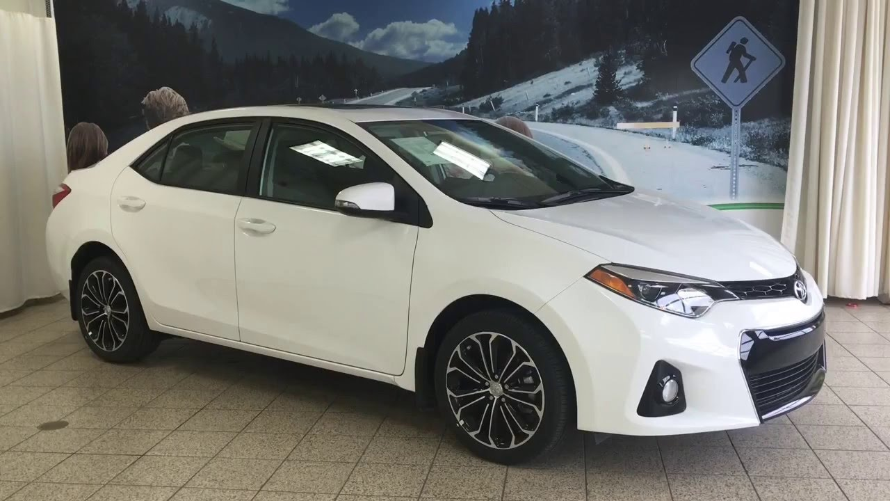 2016 Toyota Corolla S W Cvt Amp Technology Package