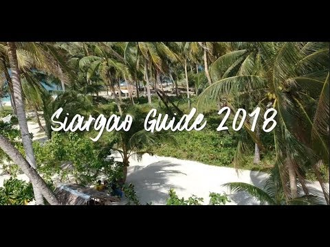 Siargao Travel Guide 2018