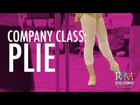 Ballet Class: Plie