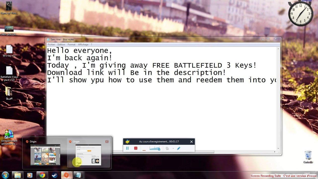 Ключ к battlefield 3 скачать