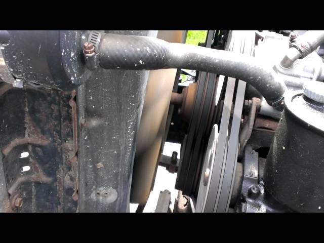 How to test a fan clutch - YouTube