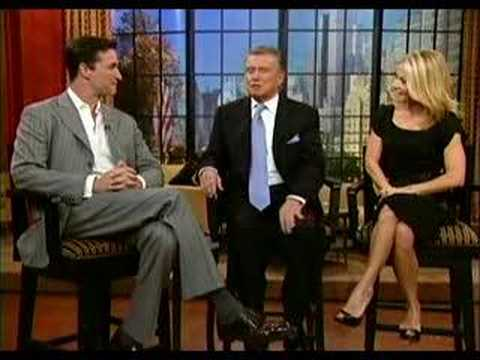 Noah Wyle on Regis and Kelly
