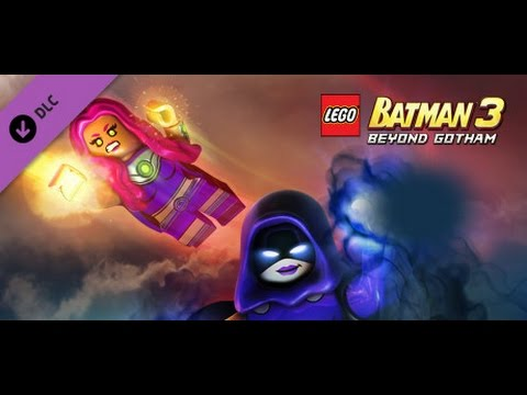 LEGO Batman 3: Beyond Gotham (Xbox 360) - Starfire & Raven ...