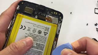 Zte blade spark z971 disassembly and install lcd, battery , charging port