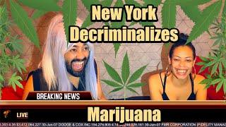 New York Decriminalizes Marijuana! | Cannabis Legalization Discussion | Smoke Sesh