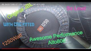JBL BASS TUBE GT 1250 BANGGED THE ALTO 800