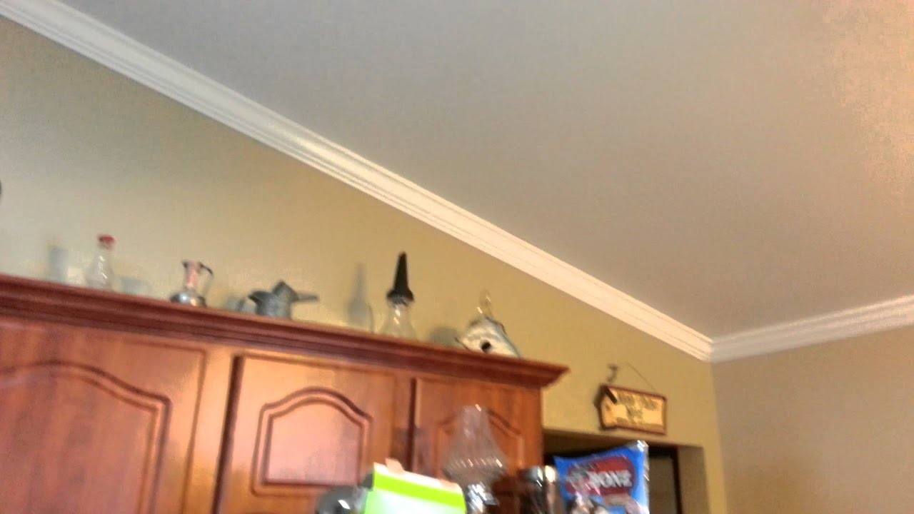 Crown molding on vaulted cathedral ceilings - YouTube
