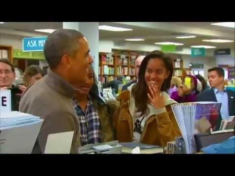President Obama & Malia Troll Chuck Todd