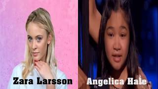 """Angelica Hale and Zara Larsson - """"Symphony"""" Sing Off and Dan..."""