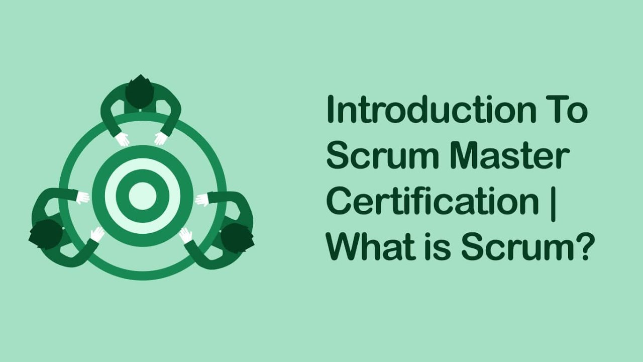 Csm Training Video Certified Scrum Master Tutorial Youtube