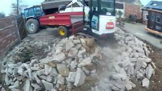 Concrete yard removal day 2