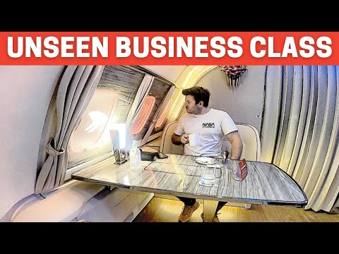 EXCLUSIVE: New EMIRATES A380 Business Class you've NOT seen before…