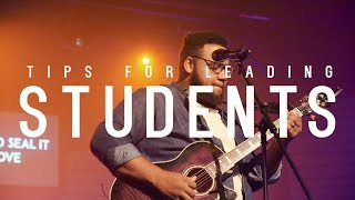 How to lead worship for students // Sunday Vlog #34