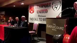 Michael Ring: Westport United 200k Grant