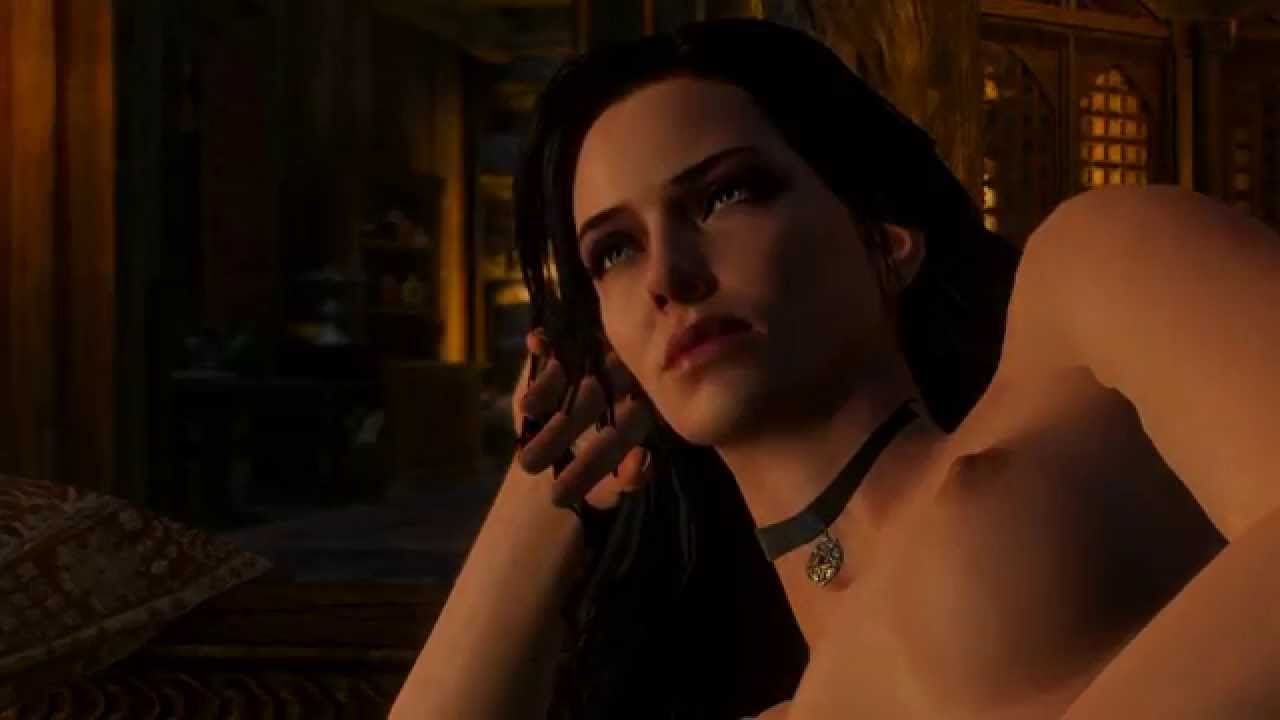 The Witcher 3: Wild Hunt - Sex With Yennefer on Unicorn