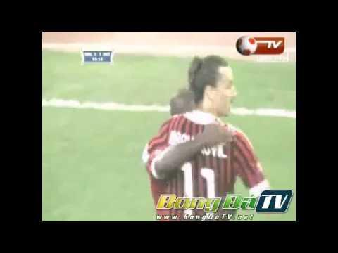 BLV Văn Mạnh đối thủ nặng kí của Tạ Biên Cương - AC Milan 2-1 Inter