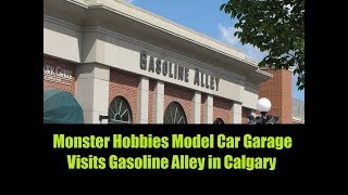 Monster Hobbies Model Car Garage Visits Gasoline Alley