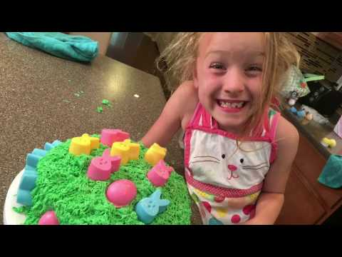 How To - Kids Easter Cake