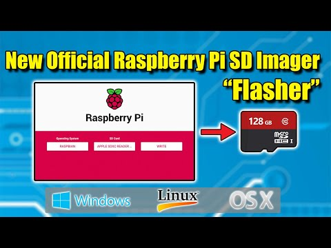 "New Official Raspberry Pi SD Imager ""SD Card Flasher"""
