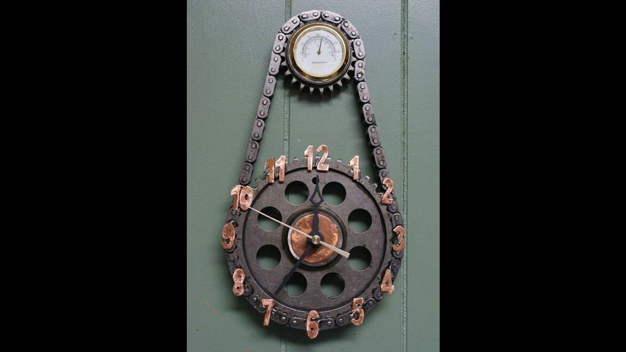 26 Extremely Creative Handmade Wall Clocks 50 Beautiful Ideas
