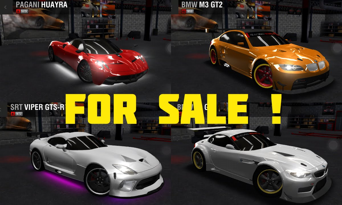 Racing Rivals Cars For Trade