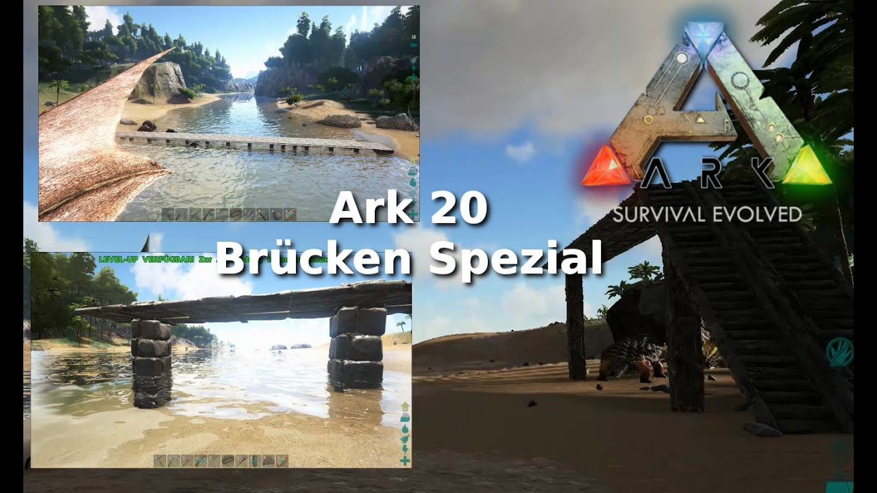 Ark Survival Evolved 20 Howto Spezial Brucken Bauen