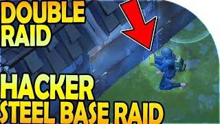 HACKER STEEL BASE RAIDING (DOUBLE Raid) - Last Day On Earth Survival Update 1.8.7