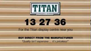 Titan Garages Sheds And Carports, Titan Heaven