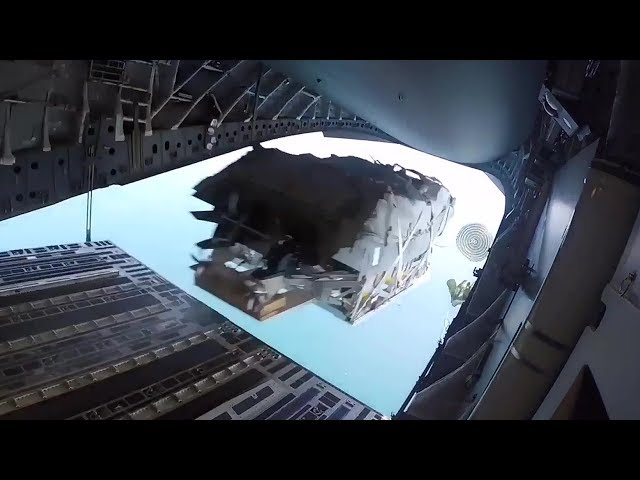 Special Operations Boat Airdrop From C-17: Low Velocity Airdrop Delivery System (LVADS)