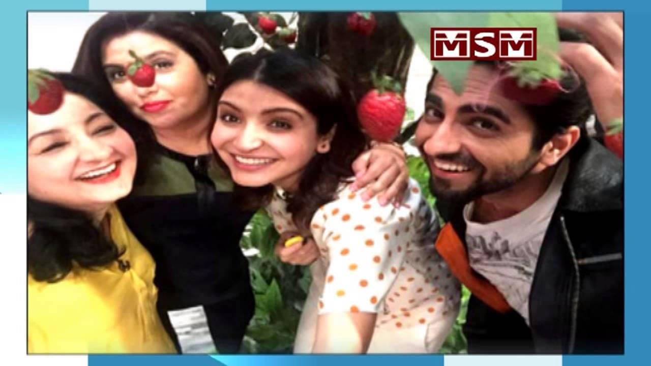 Anushka Sharma, Ayushmann Khurrana, Karan Johar On Farah -9042