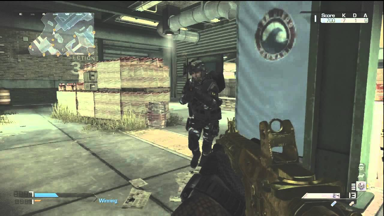 COD Ghosts Remington R5 Assault Rifle GOLD Camo Gameplay ...  COD Ghosts Remi...