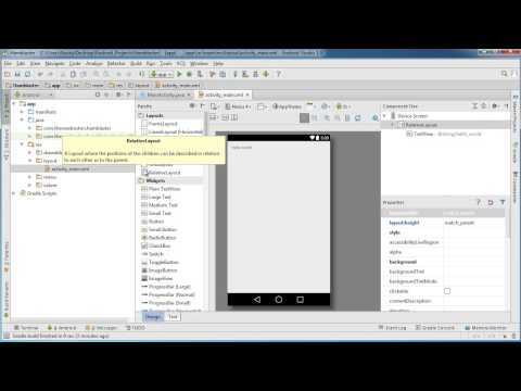 Android App Development for Beginners - 11 - Designing the User Interface