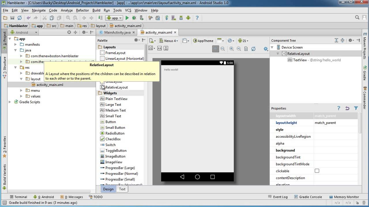 Android App Development for Beginners - 11 - Designing the User ...