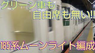 【4+6全車指定の185系】臨時特急・踊り子56号に乗ってきた。