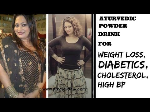 WEIGHT LOSS MAGICAL AYURVEDIC POWDER DRINK ( EVEN FOR DIABETICS TO BE IN CONTROL | Priyanka George |