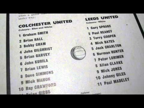 Colchester United vs Leeds United - FA Cup Fifth Round 1971 (Second Half)