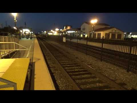 Nighttime at Orange Metrolink Station - A brief vlog on the station`s history