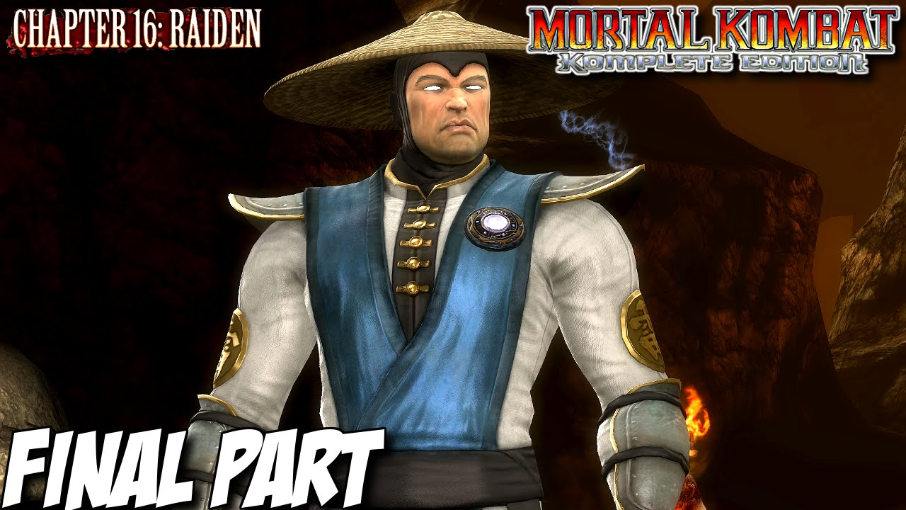 Mortal Kombat Komplete Edition Story Mode Part 16 Chapter 16