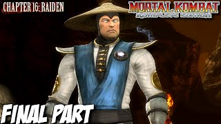 Mortal Kombat Komplete Edition Story Mode Part 16 - Chapter 16: Raiden (PC, PS3, Xbox 360) Final