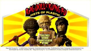 Rag Doll Kung Fu Fists of Plastic - Playstation 3 Gameplay