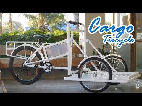 Cargo Tricycle Smart SME จักรยาน3ล้อ สั่งทำ(1/2)