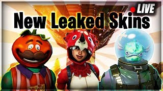 NEW LEAKED SKINS | NEW PORT-A-FORT GRENADE | 685+ Wins 16k+ Kills 8K/D (Fortnite Battle Royale)