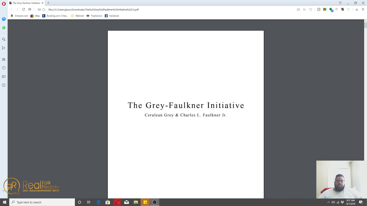 Grey Faulkner Initiative Intro